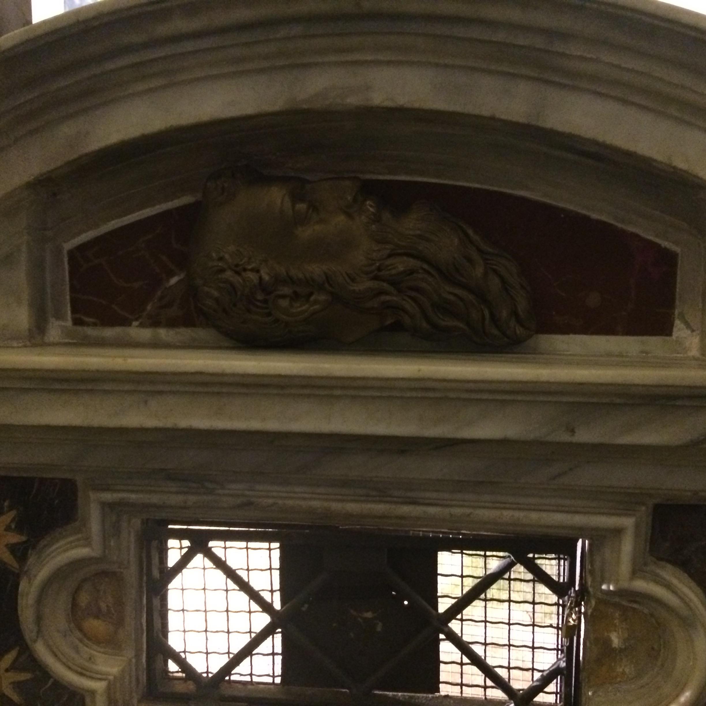 Detail výzdoby v San Paolo alle Tre Fontane